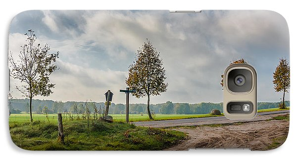 Galaxy Case featuring the photograph Four On The Crossroads by Dmytro Korol