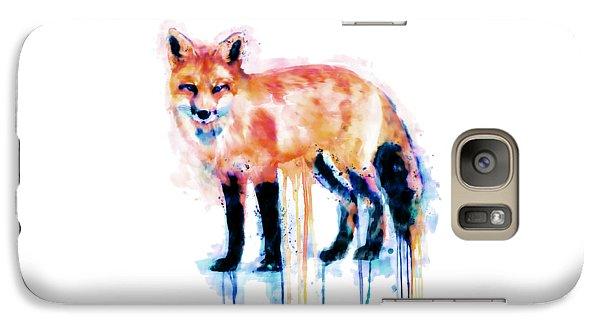 Fox  Galaxy S7 Case by Marian Voicu