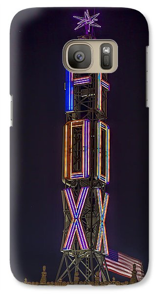 Galaxy Case featuring the photograph Fox Theatre Detroit by Nicholas  Grunas