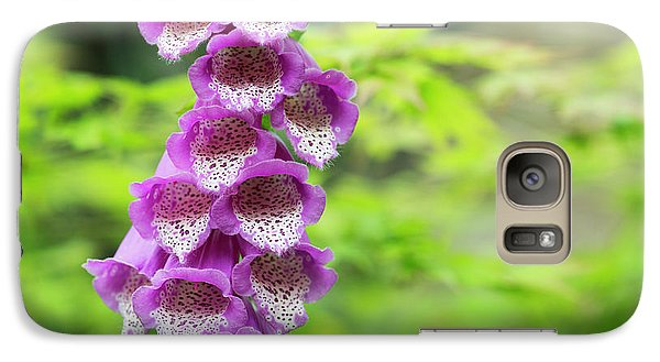 Galaxy Case featuring the photograph Foxglove Flowering by Tim Gainey