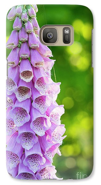 Galaxy Case featuring the photograph Foxglove Light by Tim Gainey