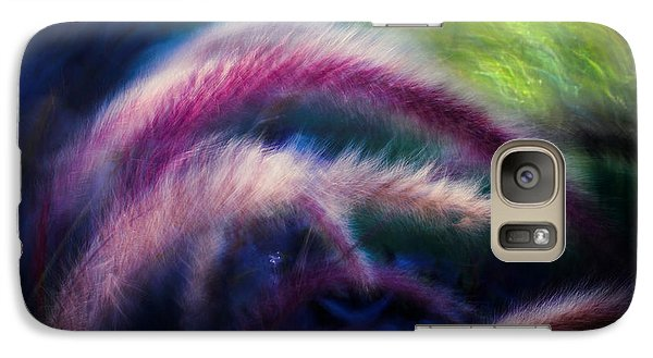 Galaxy S7 Case featuring the photograph Foxtails In Shadows by Rikk Flohr