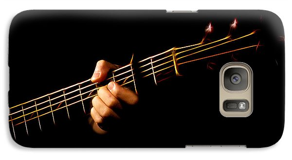 Galaxy Case featuring the photograph Fractal Frets by Cameron Wood