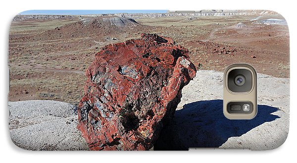 Galaxy Case featuring the photograph Fragile Survivor by Gary Kaylor