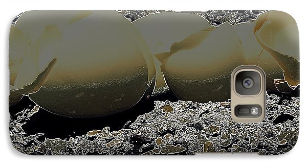 Galaxy Case featuring the photograph Fragile Waters by Kristine Nora