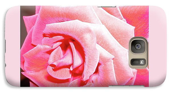 Galaxy Case featuring the photograph Fragrant Rose by Marie Hicks