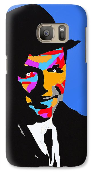 Galaxy Case featuring the drawing Frank Feeling Blue by Robert Margetts