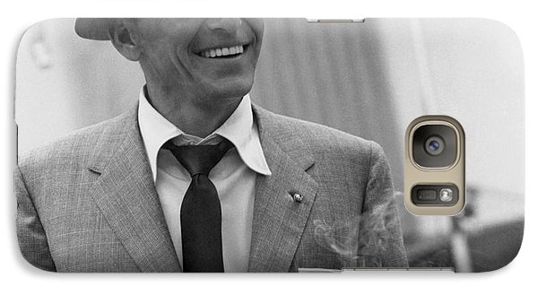 Frank Sinatra - Capitol Records Recording Studio #3 Galaxy S7 Case by The Titanic Project