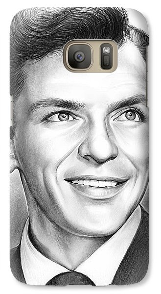 Frank Sinatra Galaxy S7 Case by Greg Joens
