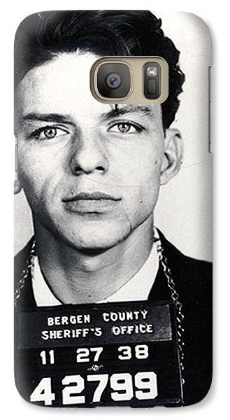 Frank Sinatra Mug Shot Vertical Galaxy Case by Tony Rubino