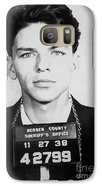 Frank Sinatra Mugshot Galaxy S7 Case
