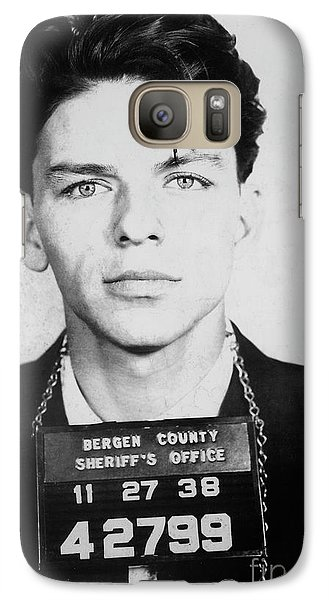 Frank Sinatra Mugshot Galaxy S7 Case by Jon Neidert