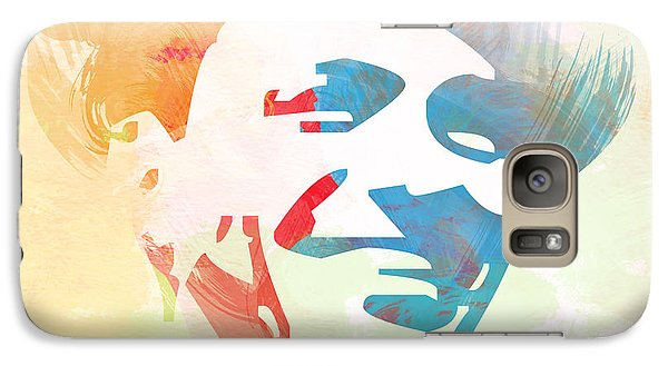 Jazz Galaxy S7 Case - Frank Sinatra by Naxart Studio
