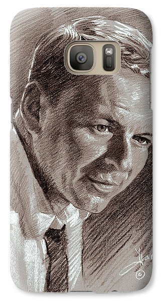 Frank Sinatra  Galaxy S7 Case by Ylli Haruni