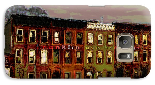 Galaxy Case featuring the photograph Franklin Ave. Bk by Iowan Stone-Flowers