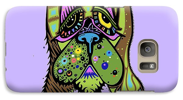 Galaxy Case featuring the painting Franklin by Tanielle Childers