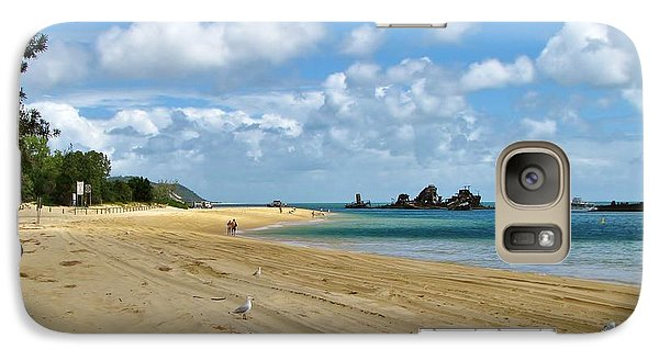 Galaxy Case featuring the photograph Fraser Island Austraila by Michele Penner