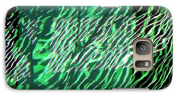 Galaxy Case featuring the photograph Frazzled by Betsy Zimmerli