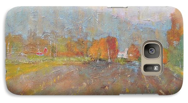 Galaxy Case featuring the painting Freddie Jayko's by Len Stomski
