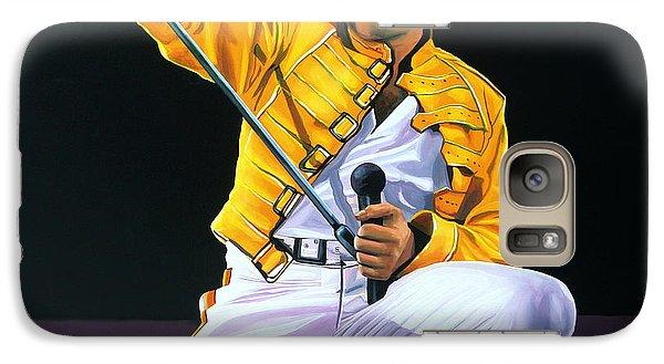 Realistic Galaxy S7 Case - Freddie Mercury Live by Paul Meijering