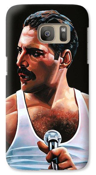 Realistic Galaxy S7 Case - Freddie Mercury by Paul Meijering