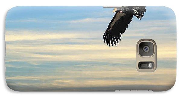 Free To Fly Again - California Condor Galaxy S7 Case by Daniel Hagerman