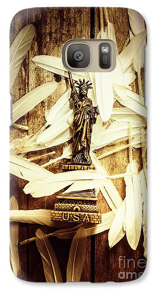 Dove Galaxy S7 Case - Freedom And Independence by Jorgo Photography - Wall Art Gallery