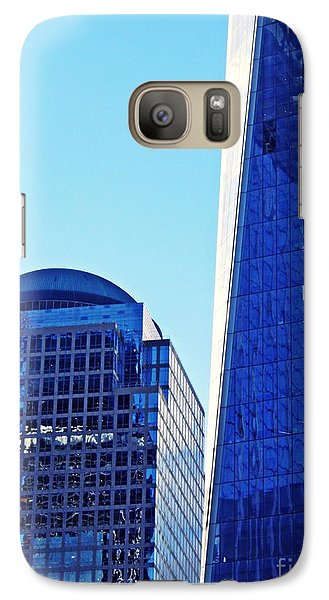 Galaxy Case featuring the photograph Freedom Tower And 2 World Financial Center by Sarah Loft