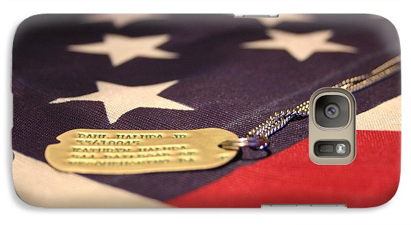 Galaxy Case featuring the photograph Freedom's Price by Laddie Halupa