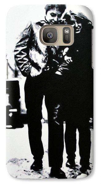 Bob Dylan Galaxy S7 Case - Freewheelin by Hood alias Ludzska