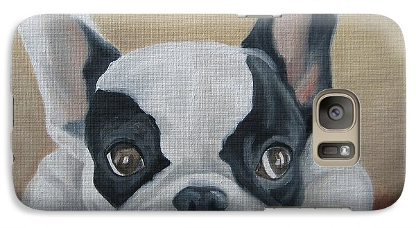 Galaxy Case featuring the painting French Bulldog by Jindra Noewi