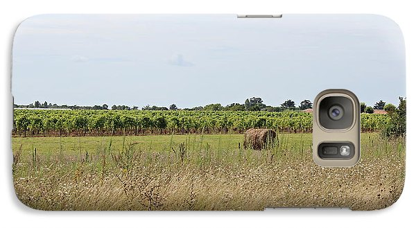 Galaxy Case featuring the photograph French Countryside by Cendrine Marrouat