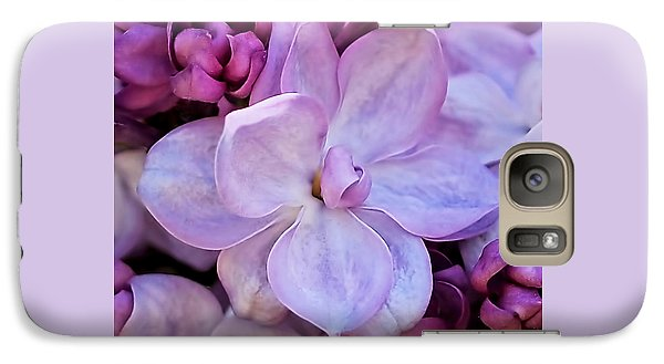 French Lilac Flower Galaxy S7 Case