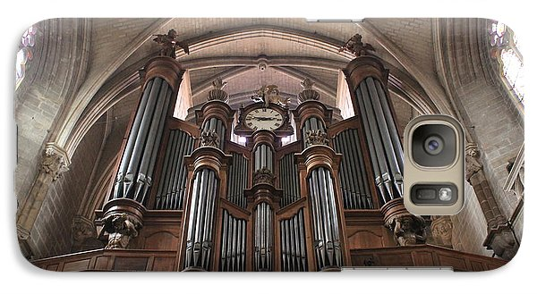 Galaxy Case featuring the photograph French Organ by Christin Brodie