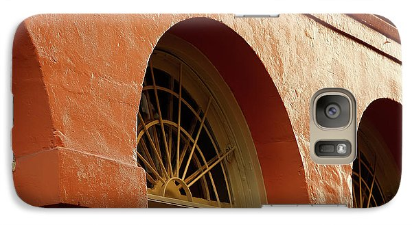 Galaxy Case featuring the photograph French Quarter Arches by KG Thienemann