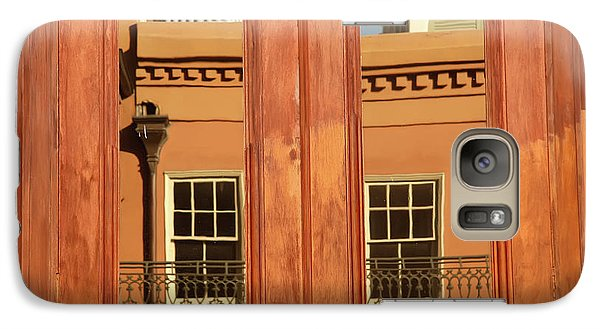 Galaxy Case featuring the photograph French Quarter Reflection by KG Thienemann