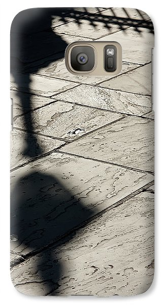 Galaxy Case featuring the photograph French Quarter Shadow by KG Thienemann