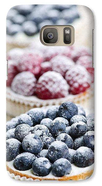 Fresh Berry Tarts Galaxy S7 Case