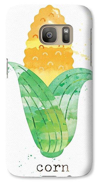 Truck Galaxy S7 Case - Fresh Corn by Linda Woods
