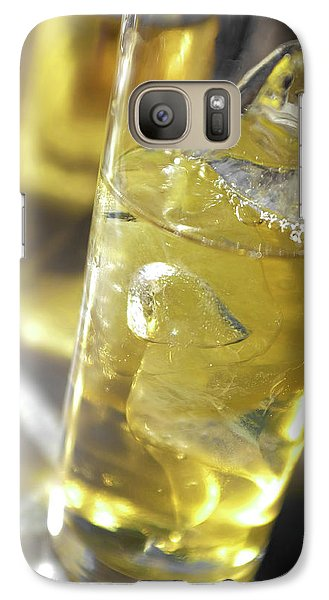 Galaxy Case featuring the photograph Fresh Drink With Lemon by Carlos Caetano