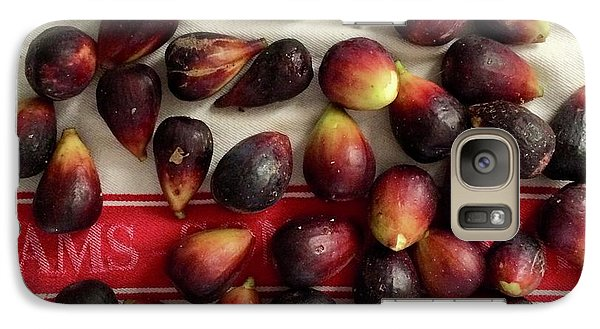 Galaxy Case featuring the photograph Fresh Figs by Kim Nelson