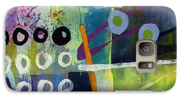 Galaxy Case featuring the painting Fresh Jazz In A Square 2 by Hailey E Herrera