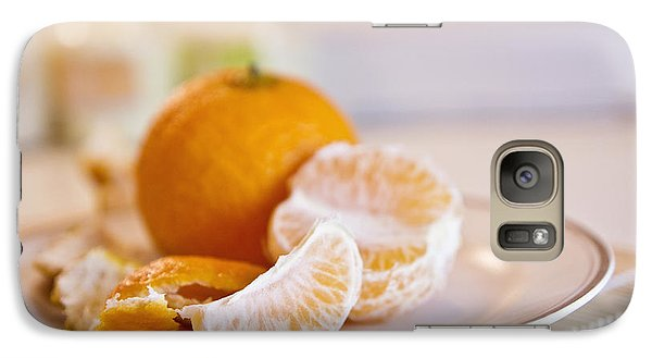 Galaxy Case featuring the photograph Freshly Peeled Citrus by Cindy Garber Iverson