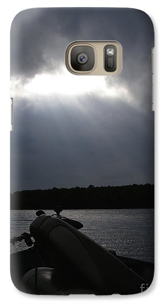 Galaxy Case featuring the photograph Friday Night Fish Fry Reservations by Angie Rea