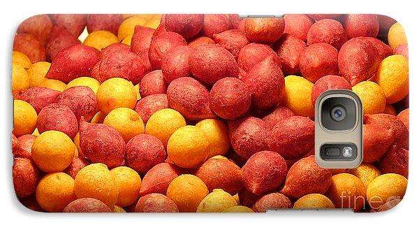 Galaxy Case featuring the photograph Fried Sweet Potato Balls by Yali Shi