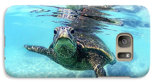 friendly Hawaiian sea turtle  Galaxy S7 Case