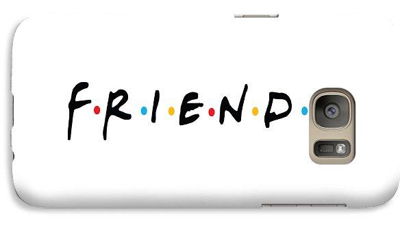 Galaxy Case featuring the digital art Friends by Jaime Friedman