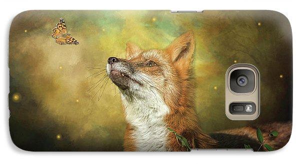 Friends On A Firefly Evening Galaxy S7 Case