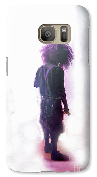 Galaxy Case featuring the digital art Frightdome Clown by Walter Chamberlain