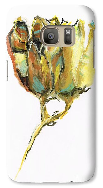 Galaxy Case featuring the painting Fritillaria by Frances Marino